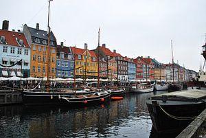 Nyhavn - Kopenhagen - Denemarken
