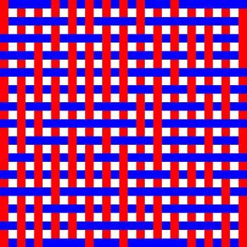 Onder en over 1:1 Willekeurig #04 08x08 08x08 RB. van Gerhard Haberern
