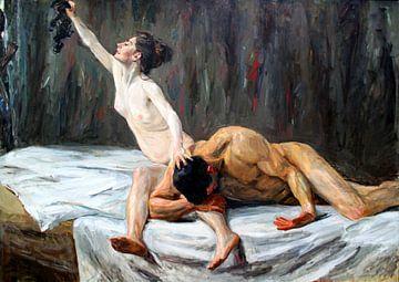 Allegorie von Max Liebermann, Samson und Delilah - 1902 von Atelier Liesjes