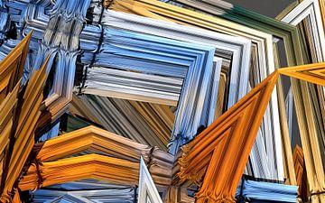 Unordnung mit Bilderrahmen von W J Kok