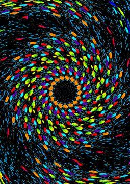 Farbenwirbel sur Rosi Lorz