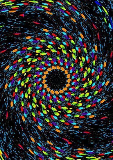 Farbenwirbel