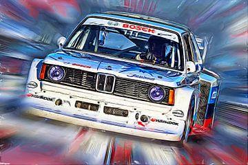 Gruppe 5  BMW 320 von Jean-Louis Glineur alias DeVerviers