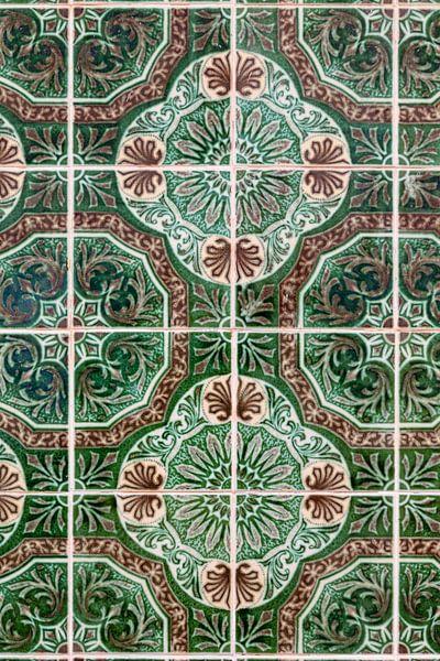 Azulejos in Olhao van Dirk Rüter