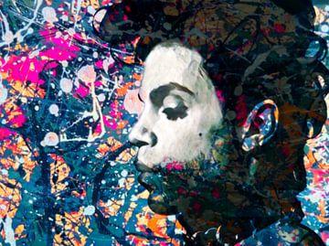 Motiv Porträt Prince Extrem Splash Pop Art PUR 01 sur Felix von Altersheim