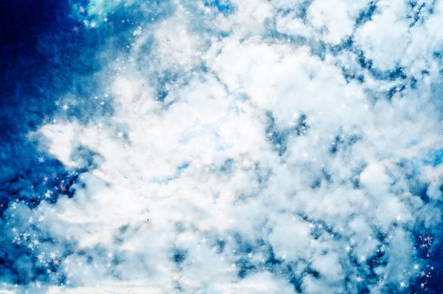 cloudy sky van Patricia Verbruggen