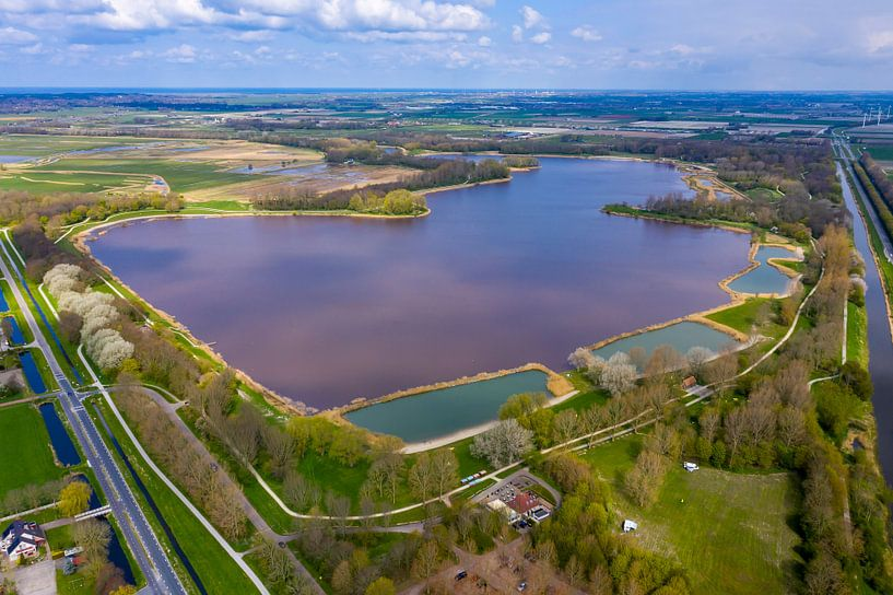 Het meer, De Zomerdel, bij Geestmerambacht van Michel Sjollema