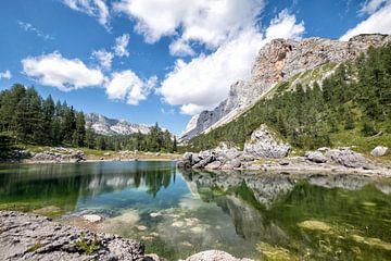 7 meren vallei,  Triglav National Park Slovenie van