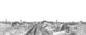Panorama Breda van Ans Bastiaanssen