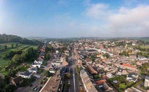 Luchtpanorama van Gulpen in Zuid-Limburg