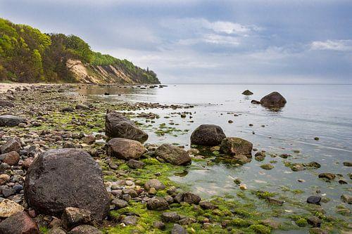 Baltic Sea coast on the island Ruegen
