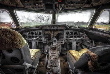 Vliegtuig Cockpit van Kelly van den Brande