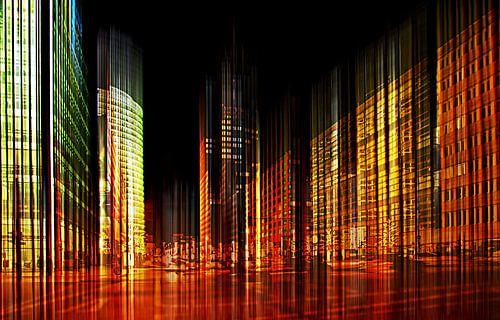 Berlin bei Nacht  von Violetta Honkisz