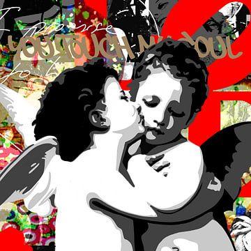 Berühmte Liebespaare - 'Engel'. von Jole Art (Annejole Jacobs - de Jongh)