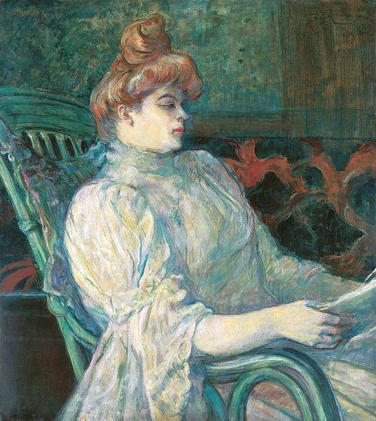 Madame Marthe X Bordeaux, Henri de Toulouse-Lautrec - 1900 von Het Archief