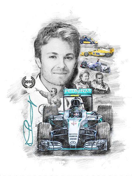 Nico Rosberg von Theodor Decker