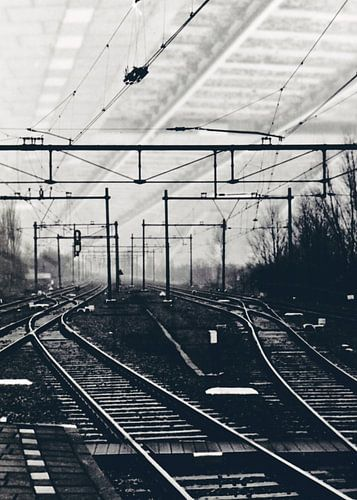 Spoorweg station Woerden