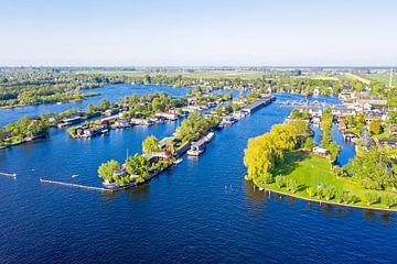 Luftpanorama der Seen von Vinkeveen von Nisangha Masselink