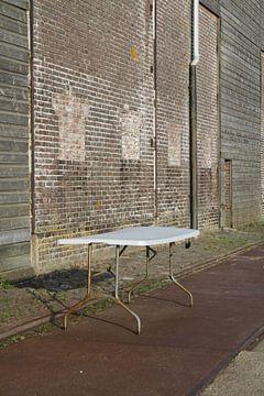 Oude tafel  van Jetty Boterhoek