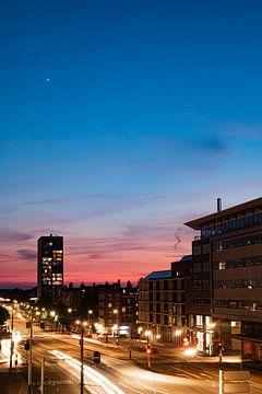 Zonsondergang met ster (3) van By Odessa DC