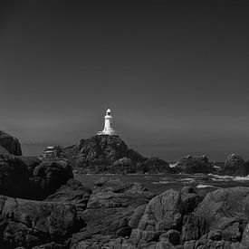 Corbiere Lighthouse - Jersey van Frans van der Ent Fotografie