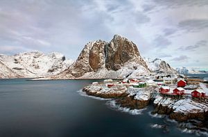 Noorwegen, Hamnøya  van