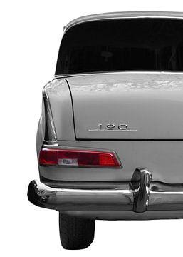 Mercedes-Benz W 110 Heckansicht von aRi F. Huber