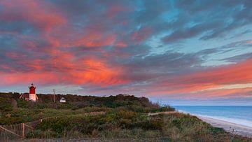 Nauset Light Leuchtturm, Cape Cod, Massachusetts von Henk Meijer Photography