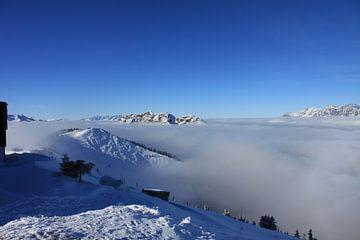 Berglandschap Oostenrijk von Rianne Ouwerkerk