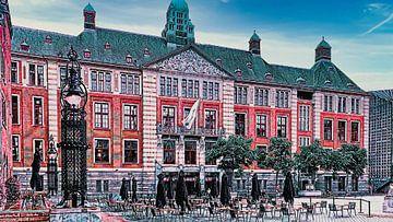 Amsterdamse effectenbeurs. van Digital Art Nederland