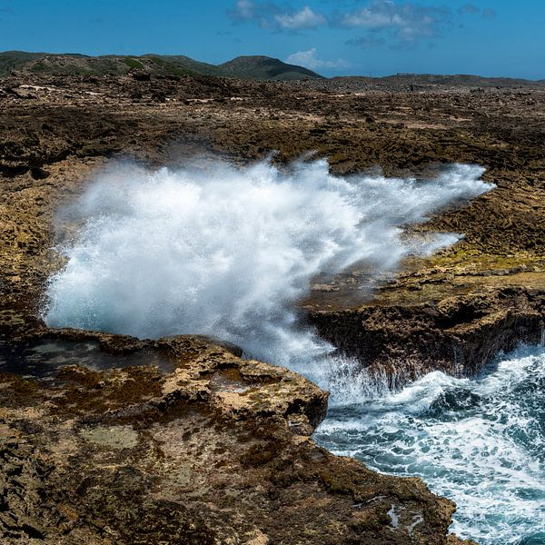 Curacao, Park shete boka van Keesnan Dogger Fotografie