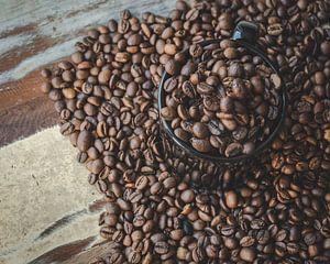 Koffie bonen van Sander Guijt