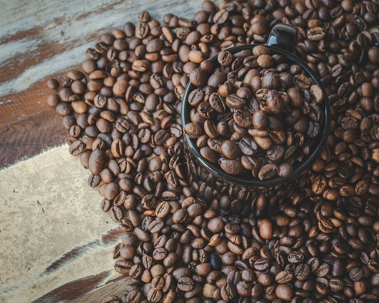 Kaffeebohnen von Sander Guijt