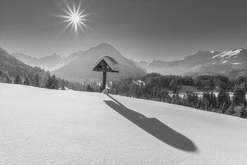 Winter in Allgäu van Walter G. Allgöwer