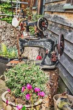 Old sewing machines van Gunter Kirsch