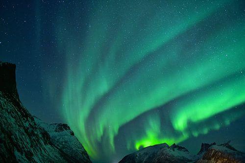 Prachtig Noorderlicht in Noorwegen van