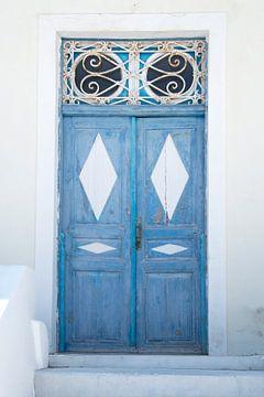 Blauwe deur van Barbara Brolsma