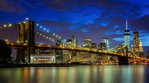 Brooklyn bridge in New York van