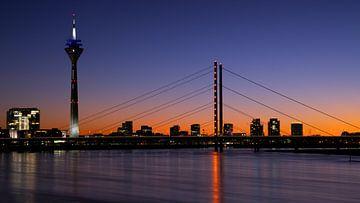 Skyline van Düsseldorf, Duitsland van Alexander Ludwig