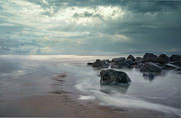Wind, golven en het strand van Alexandra Van den Bossche