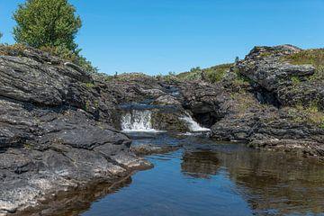 waterval in noorwegen van Compuinfoto .