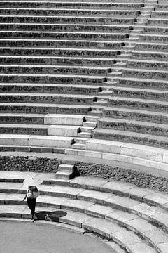 Trappen in Pompeii van Studio Heyki