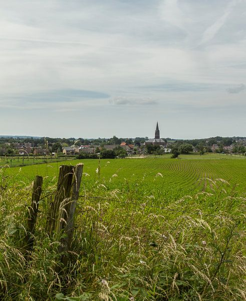 Kerktoren Bocholtz van John Kreukniet