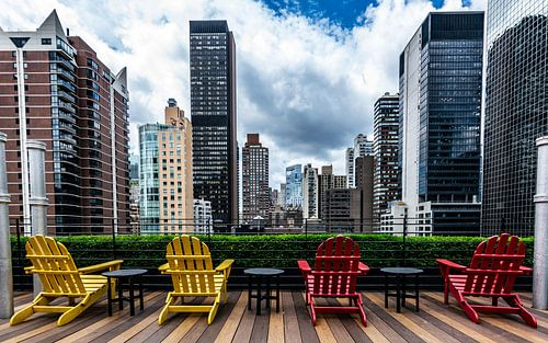 Rooftop in NYC von Kimberly Lans