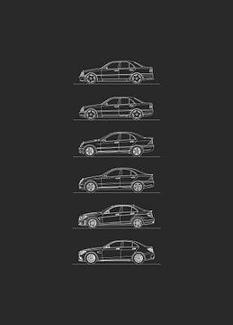 Mercedes C AMG Evolutie van Artlines Design
