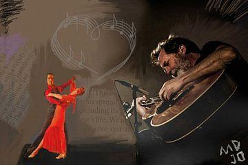 gitaar tango   van MD JO