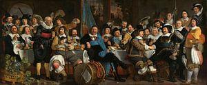 Schuttersmaaltijd ter viering van de Vrede van Munster, Bartholomeus van der Helst