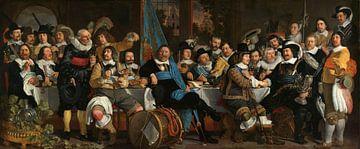 Schützenmahlzeit zur Feier des Friedens von Münster - van der Helst von