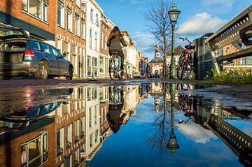 Reflectie in een plas von Richard Steenvoorden