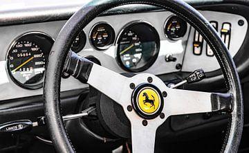 Ferrari 308 GT4 Dino Sportwagen Armaturenbrett von Sjoerd van der Wal